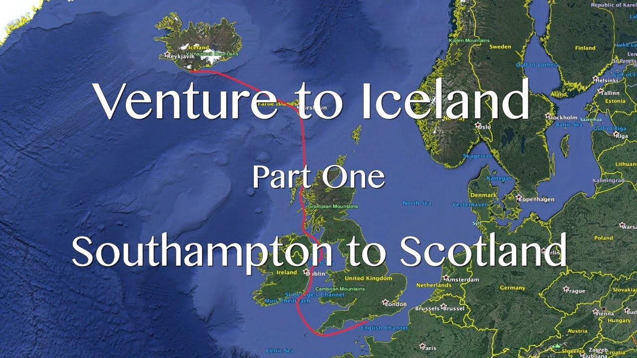 Download Venture to Iceland. Part One. Southampton to Scotland