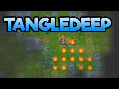 Tangledeep – New BEAUTIFUL Roguelike! – Let's Play Tangledeep Gameplay