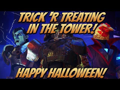 Trick 'R Treating Around The Tower! (Destiny 2 Festival Of The Lost 2019)