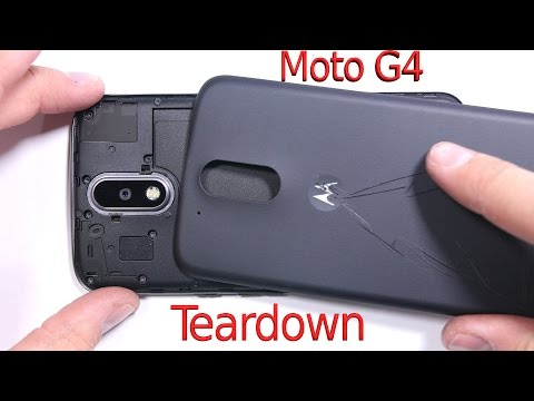 Moto G4 Teardown - Screen Replacement - Repair Video