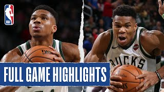 JAZZ at BUCKS | Giannis Drops Double-Double | 2019 NBA Preseason