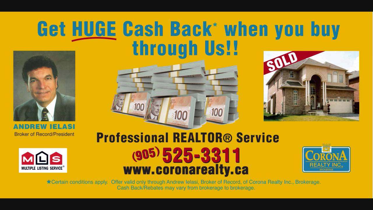 Cash Back Rebates When Buying A Home In Ancaster Ontario