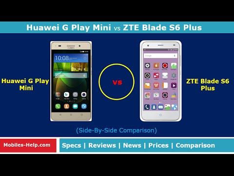 Huawei G Play Mini vs ZTE Blade S6 Plus (Side-By-Side ...