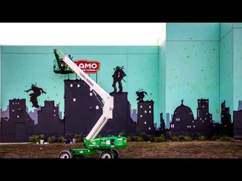 Premiere Project TMNT Wall Mural