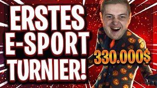 🏆💶😂MEIN ERSTES ESPORTS TURNIER! | 330.000$ Preisgeld gegen die besten Spieler Europas!