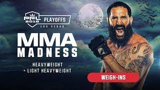 PFL9 Playoffs | 2019 - Weigh-ins