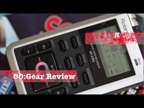 Roland R-05 field recorder 80:8 Gear Review