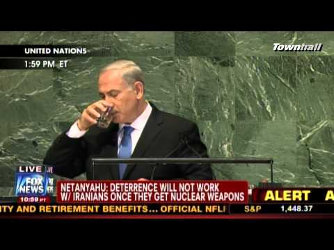 "Israeli PM Netanyahu's ""Clear Red Line"" Speech To U.N."