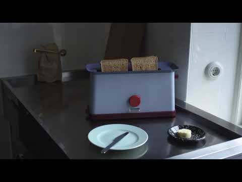 HAY Toaster and Kettle by George Sowden Video Web
