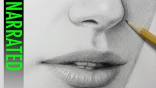 How to Draw a Nose [Narrated Step-by-Step]