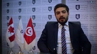 Témoignage de Mohamed HASNI étudiant en Licence Sciences Politiques du Groupe UET