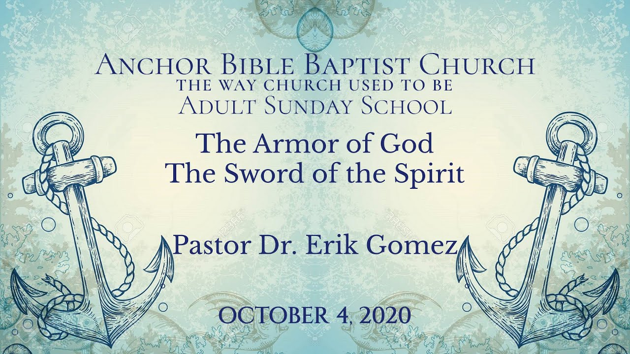 The Armor of God The Sword of The Spirit