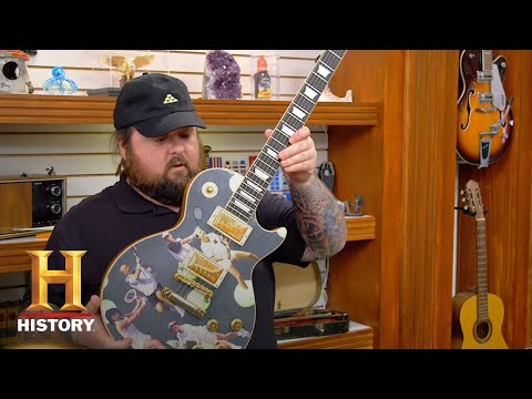 Pawn Stars: U.S. Open-Themed Gibson Les Paul Guitar (Season 15) | History
