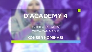 Video Sheila, Klaten - Secawan Madu (D'Academy 4 - Konser Nominasi 35 Besar Group 2) download MP3, 3GP, MP4, WEBM, AVI, FLV Agustus 2017