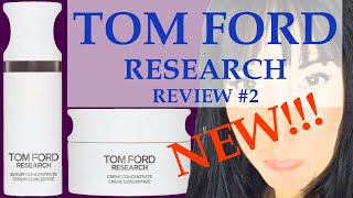 TOM FORD RESEARCH SKINCARE RESULTS | TEST & FIRST IMPRESSIONS | WEEK 1| Is luxury skincare effective