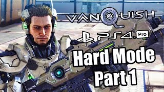 VANQUISH REMASTER Gameplay Walkthrough Part 1 (Hard) - All Collectibles | No Commentary (PS4 PRO)