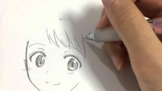 初描き ニセコイの小野寺さんを描いてみた!(※等倍速)【kekkaishilove】 thumbnail
