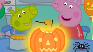 Peppa Pig Official Channel  Peppa Pig's Pumpkin Party