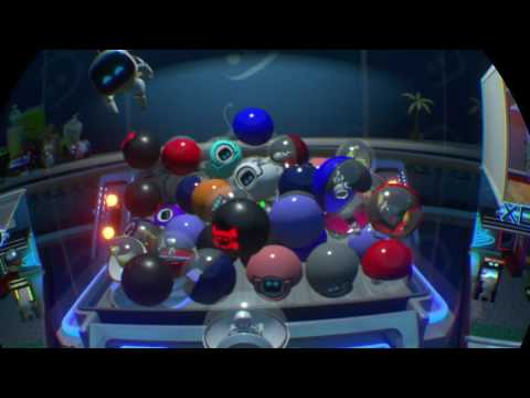 PlayStation's Playroom VR Gameplay - Live PS4 vridio