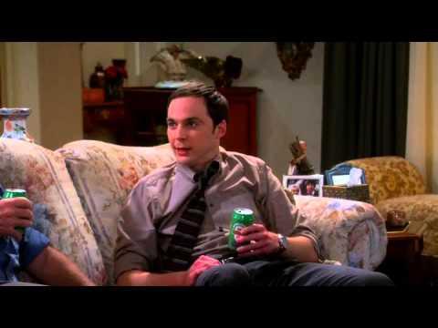 """TBBT - The Big Bang Theory. 7x09 - The Thanksgiving Decoupling, """"Sheldon drunk"""""""