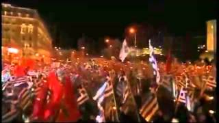 Massive Golden Dawn Rally in Athens.