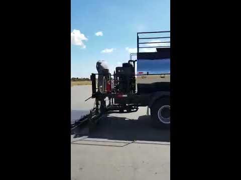 Aplicação TL 2000 rejuvenescedor de asfalto ATID Tecnologia