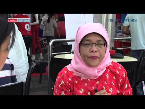 Supper with Halimah Yacob