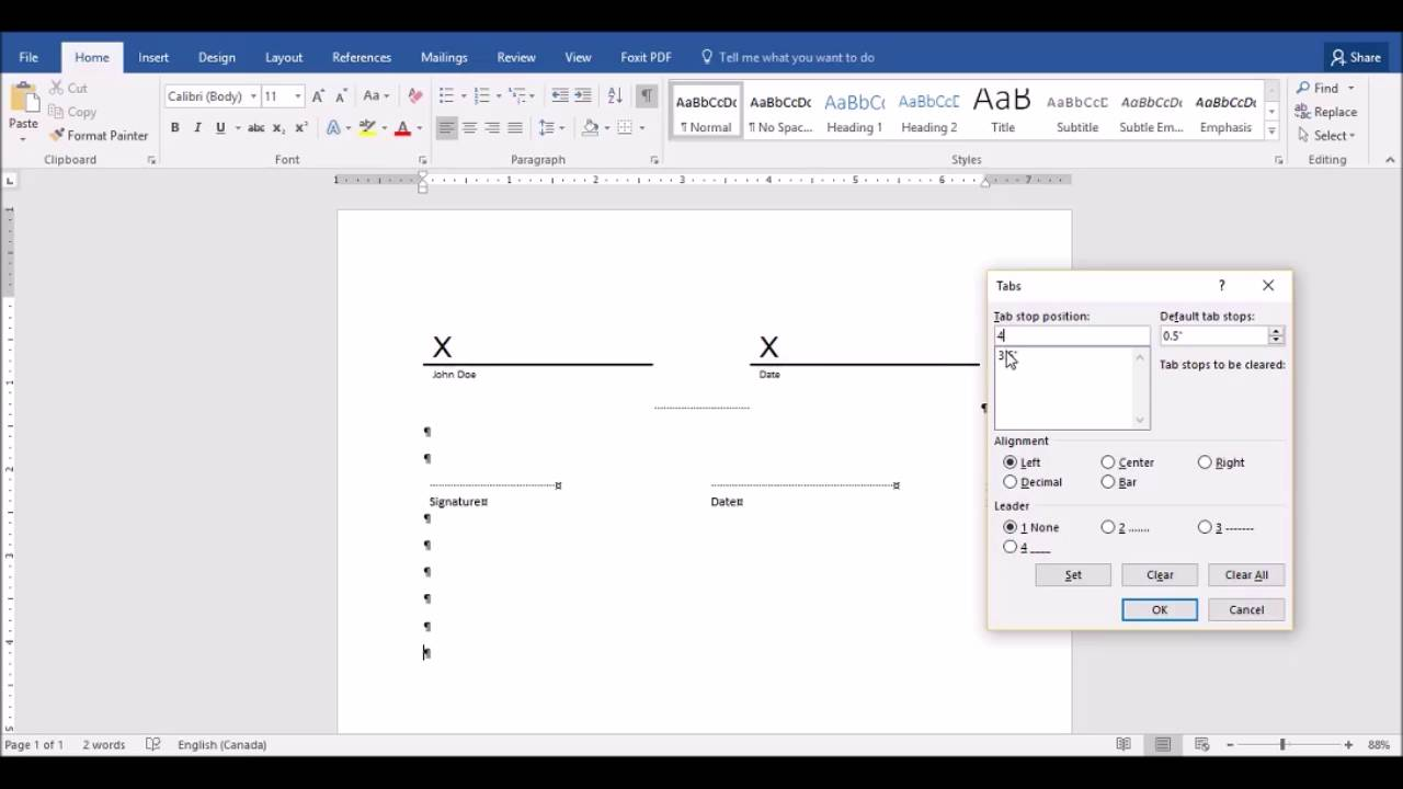 Drawing Lines In Word Mac : Signature lines in microsoft word youtube
