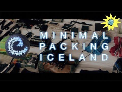 Minimal Packing Iceland 2016