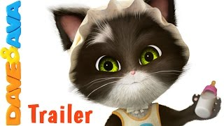 😻 Ten in the Bed – Trailer | Nursery Rhymes and Kids Songs from Dave and Ava 😻