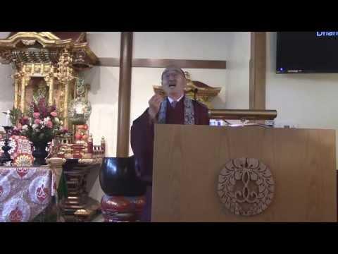 Sensei Ogui's Dharma Talk from May 10, 2015