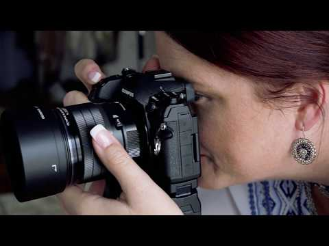 45mm F1 2 PRO Product Overview with Olympus Visionary Tracie Maglosky