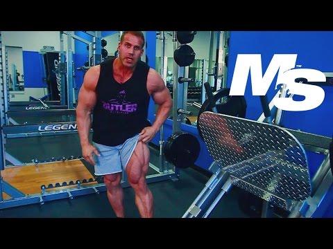 Jay Cutler's Training Tips: How To Do A Leg Press Correctly