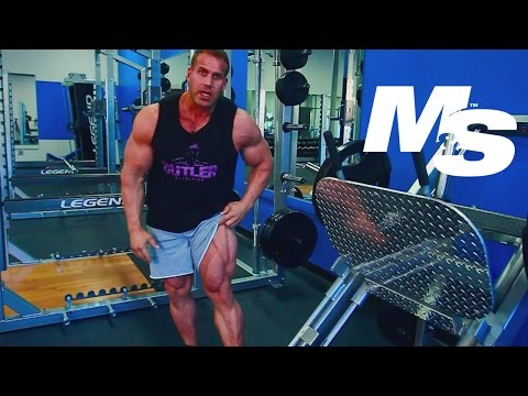 Jay Cutler's Training Tips: How To Do A Leg Press Correctly