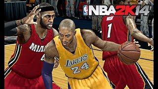 NBA 2K14 : 2013 Los Angeles Lakers vs. Miami Heat  |  4K 60fps | PC Gameplay