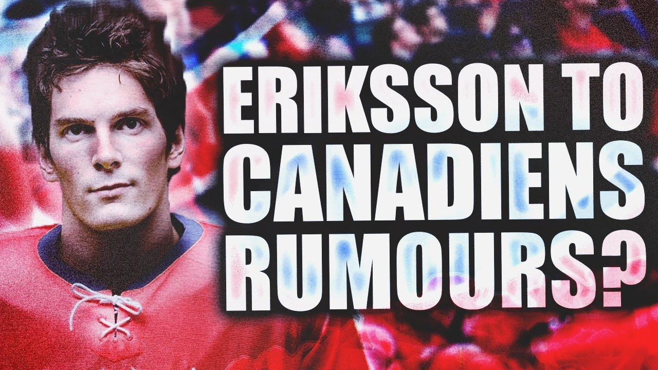 Trade Rumours Loui Eriksson To Montreal Canadiens Pre 2018 Nhl Entry Draft 7th Overall Pick