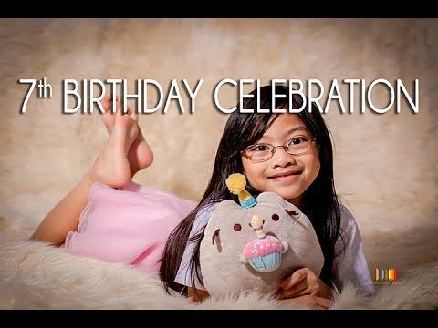 7TH Birthday Celebration Guam - Aliyah Pusheen Themed Party