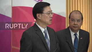 Hong Kong: Government calls on PolyU protesters to 'surrender'
