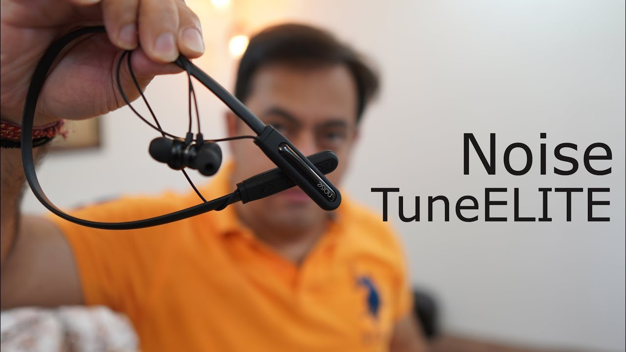 8bbba198215 Noise TuneElite Neckband Bluetooth Headphone with Magnetic earbuds for Rs.  1499 (best earphone)