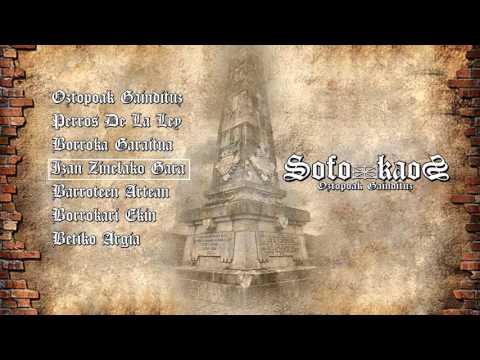 Sofokaos - Oztopoak Gaindituz ( 2015 ) Diska osoa / Album completo