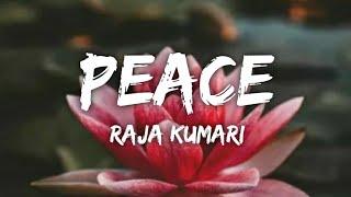 Gambar cover Raja Kumari - Peace (Lyrics) 🎵
