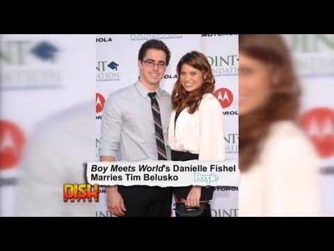 Danielle Fishel Marries Tim Belusko!