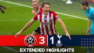 Extended Premier League Highlights |  Sheffield United 3 1 Tottenham Hotspur | Blades Down Spurs