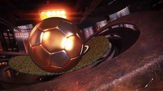 Template editável abertura trailer futebol Soccer Night Opener