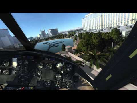 DCS World 2 0 Alpha: Flying the Huey on the NTTR Map