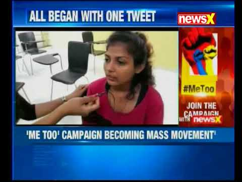 'Me too' campaign becoming mass movement - YouTube