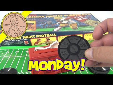 ABC Sports Talking Monday Night Football Board Game 1977, by Mattel Toys