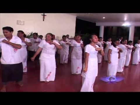 Faleseela-uta Catholic Choir . Le eleele e le malie i vai