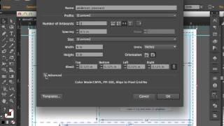 Adobe Illustrator CS6 Postcard Setup - Front and Back