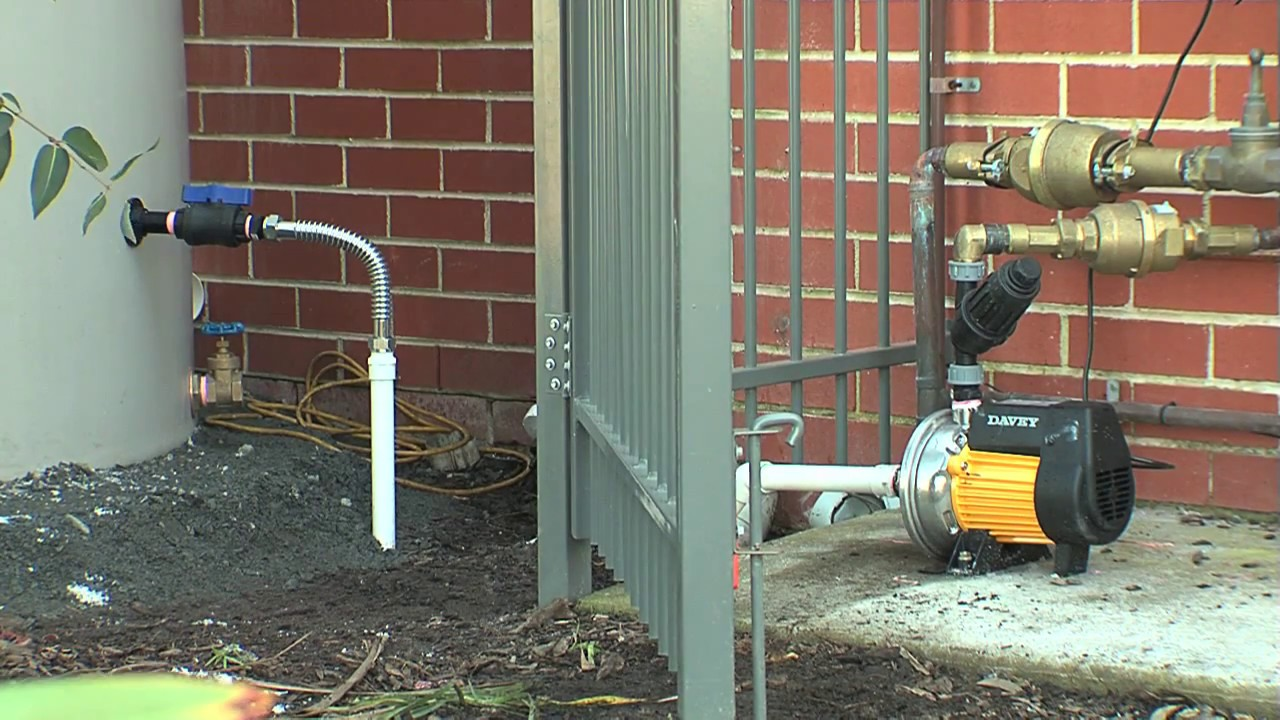 Installing A Rainwater Tank Part 4 Supply